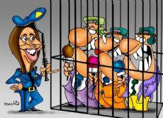 As� es como parece que Vidal quiere que sea la relaci�n con la prensa bonaerense (Dibujo: NOVA)