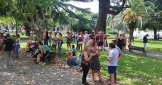 Sin solución: Frente de Todos se suma al reclamo y movilizaron al municipio
