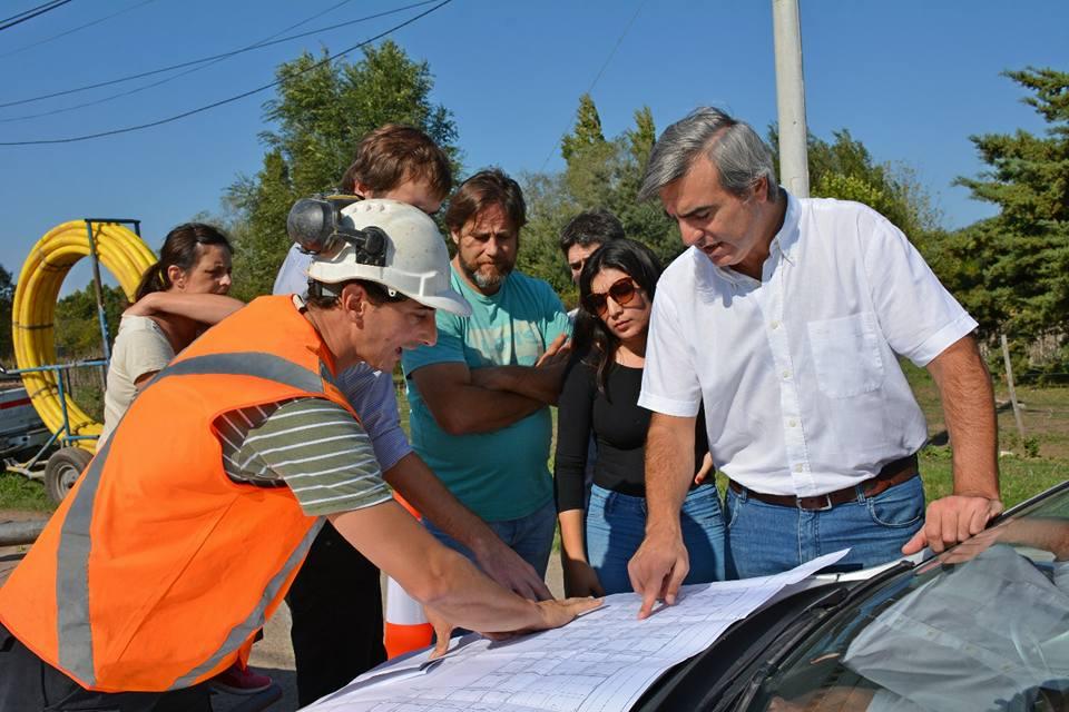 El municipio de Areco anunció un avance histórico en Villa Lía: el inicio al primer tendido de gas en la Flor del Pago.