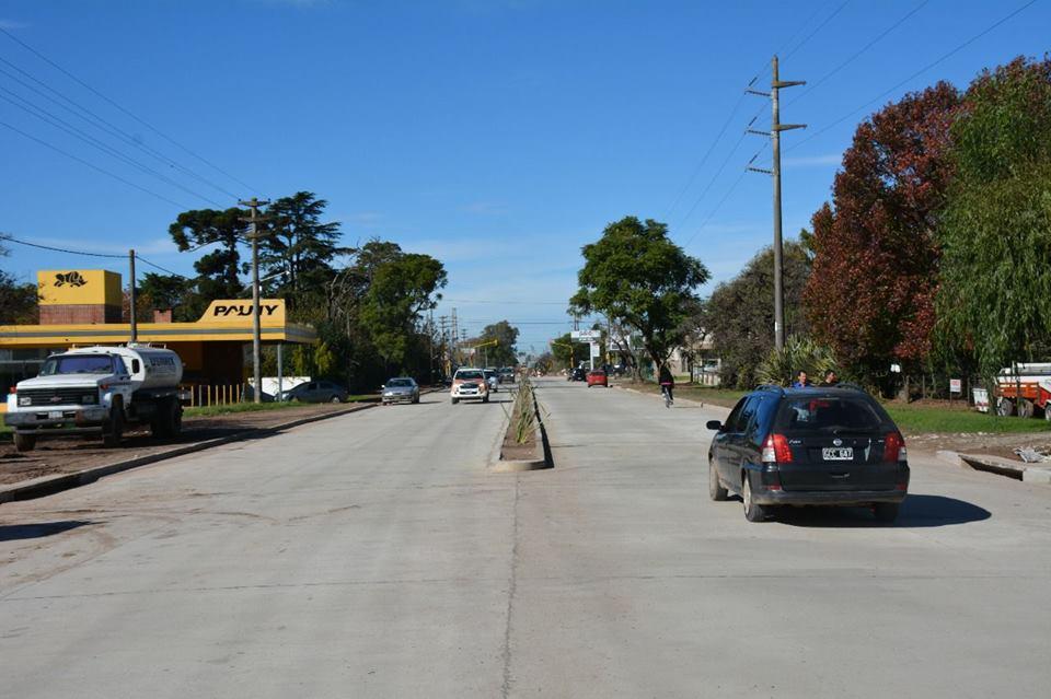 El flamante bulevar Smith ya está abierto al tránsito en toda su extensión, desde Irigoyen hasta su conexión con bulevar Zerboni.