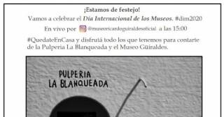Se viene una fiesta por Instagram: celebrarán el día Internacional de los Museos y Ricardo Güiraldes lo sabe