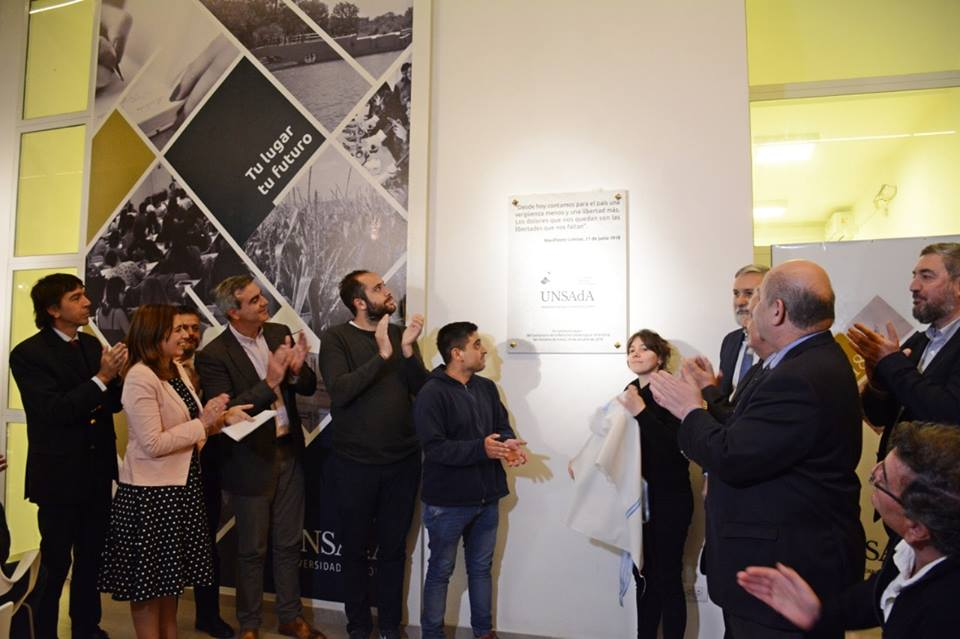 """En el marco de la celebración de los cien años de la Reforma Universitaria, la Universidad Nacional de San Antonio de Areco (UNSAdA) convocó a la """"Conferencia por el Centenario de la Reforma Universitaria""""."""