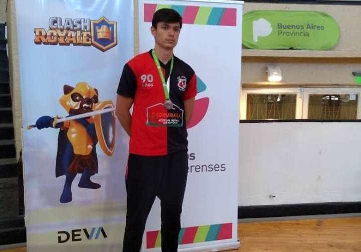 Medalla de bronce para joven arequero en los Juegos Bonaerenses