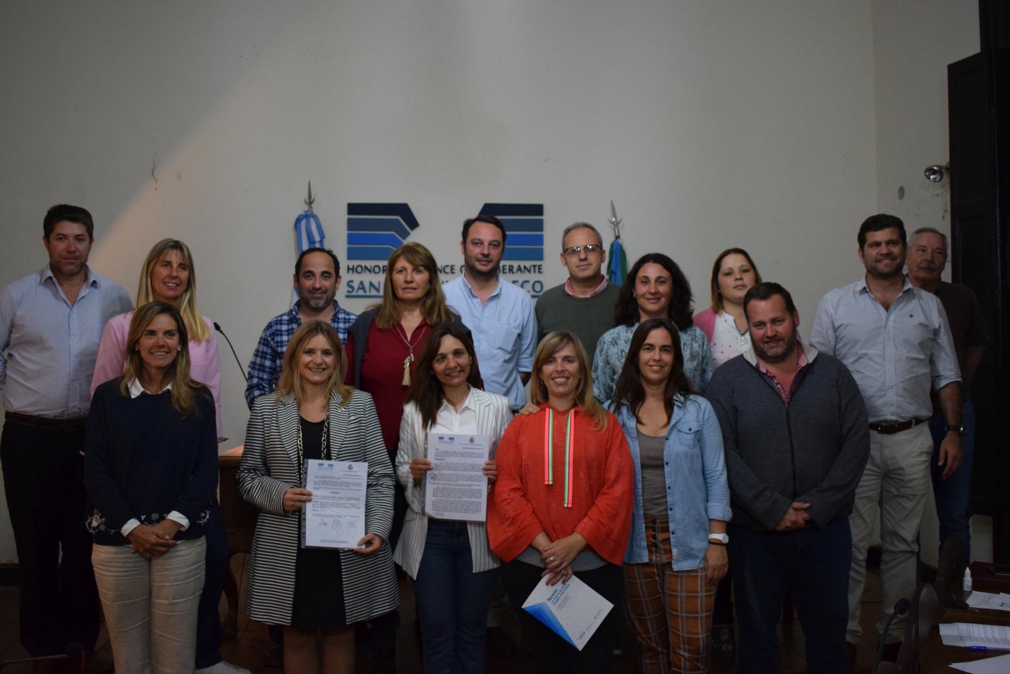 La UNSAdA fue reconocida por el Concejo Deliberante de Areco por su trabajo de articulación con Secundaria