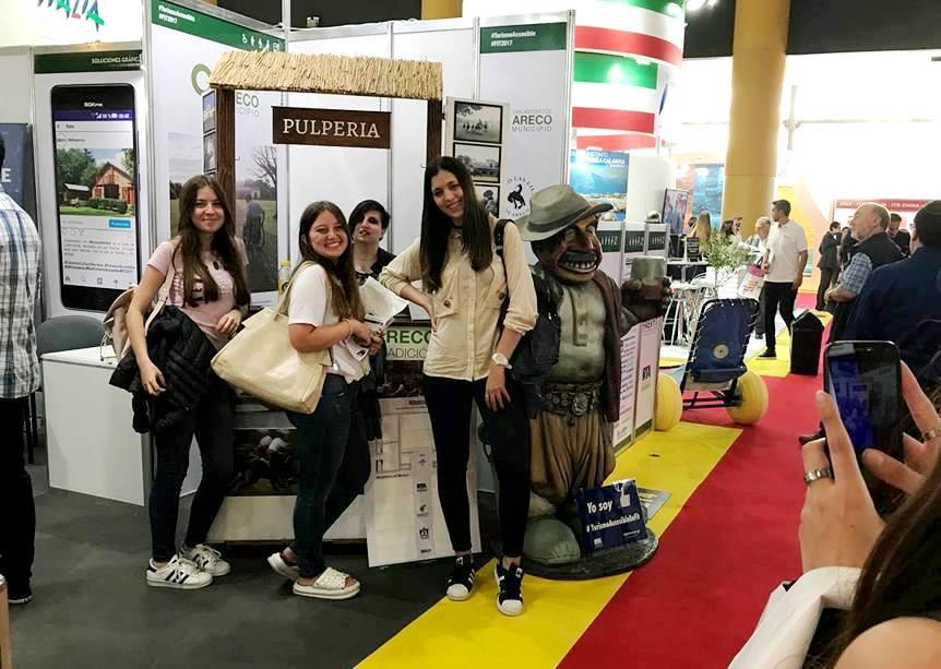 San Antonio de Areco participó activamente en una nueva edición de la Feria Internacional de Turismo, realizada en La Rural de Palermo, que en esta oportunidad contó con la presencia de 45 países y las 24 provincias argentinas, y más de 1.500 expositores.