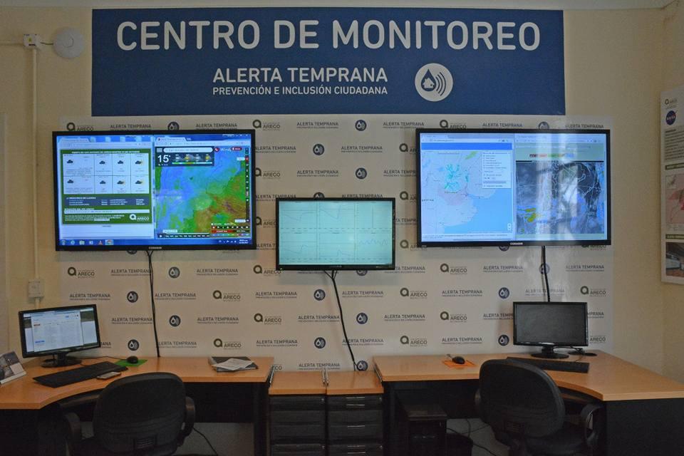 Se inauguró en el edificio del Correo, el nuevo Centro de Monitoreo y Alerta Temprana de Areco, modelo en todo el país y América Latina.