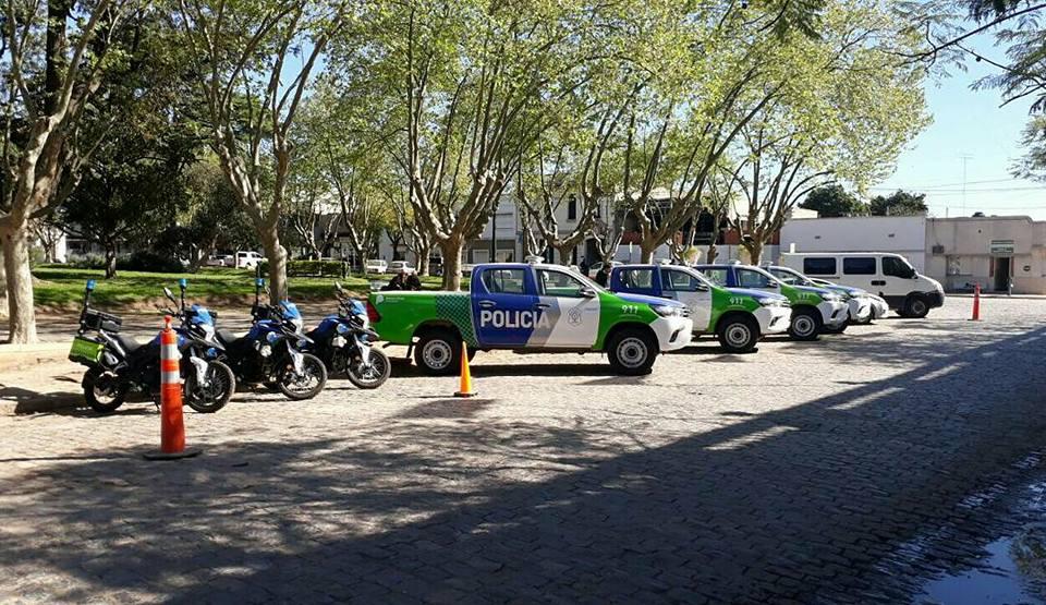 El Gobierno local suma móviles policiales para la tranquilidad de los vecinos