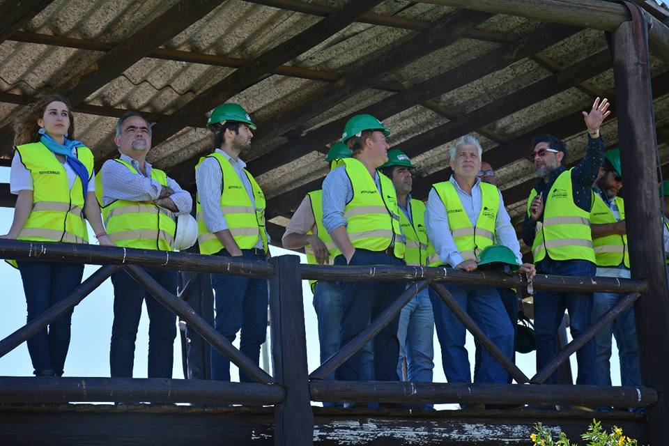 Este jueves por la mañana, el equipo de Planificación y Medio Ambiente del Municipio llevaron a cabo un recorrido en el predio del CEAMSE junto a concejales de la oposición.