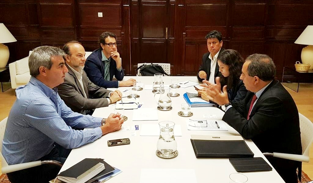 El intendente Francisco Durañona se encuentra en la ciudad de Madrid (España) participando como representante de la Federación Argentina de Municipios (FAM) y de Mercociudades en distintas reuniones de trabajo y actividades científicas con el objeto de fortalecer el intercambio entre los Gobiernos locales y de potenciar la cooperación internacional entre las distintas ciudades y Estados.