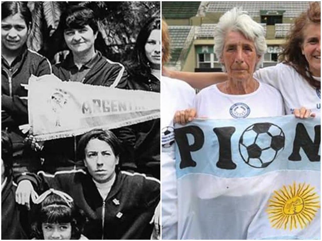 """Elba Selva """"pionera del fútbol femenino en la Argentina"""", participó en el pentatlón de los Juegos Bonaerenses en San Antonio de Areco"""