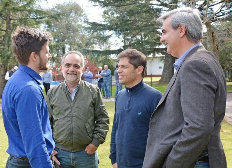 El candidato a gobernador bonaerense del Frente de Todos, Axel Kicillof.