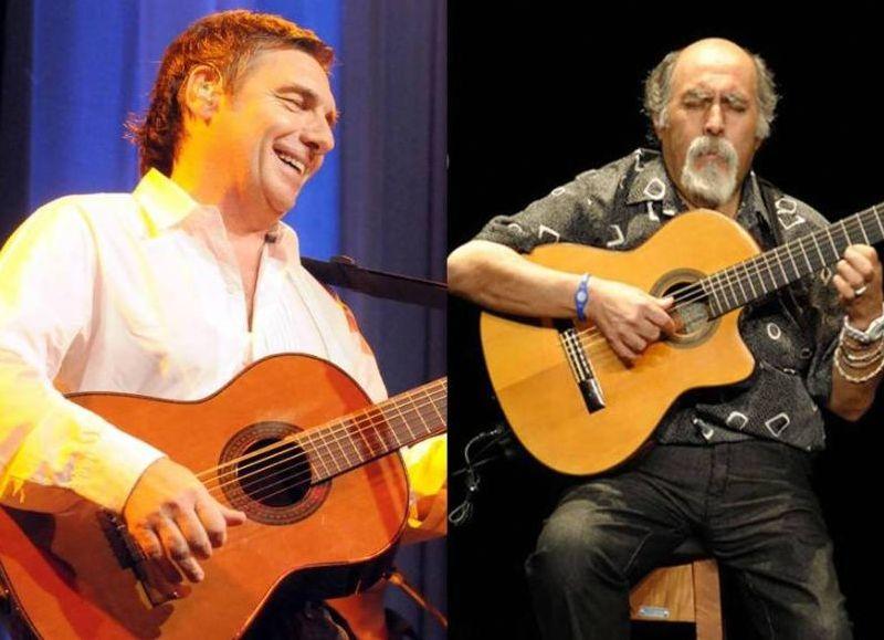 Facundo Saravia y Juanjo Domínguez, figuras estelares del evento.
