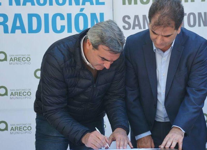 También se sumaron nuevos móviles con el fin de reforzar la seguridad en Areco.