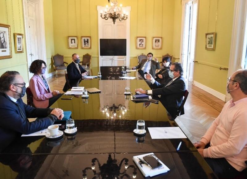 Reunión del Gabinete Económico.