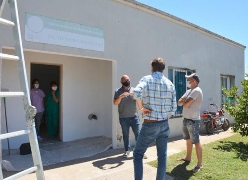 Refaccionaron las salas de Atención Primaria de Salud para los vecinos del barrio.