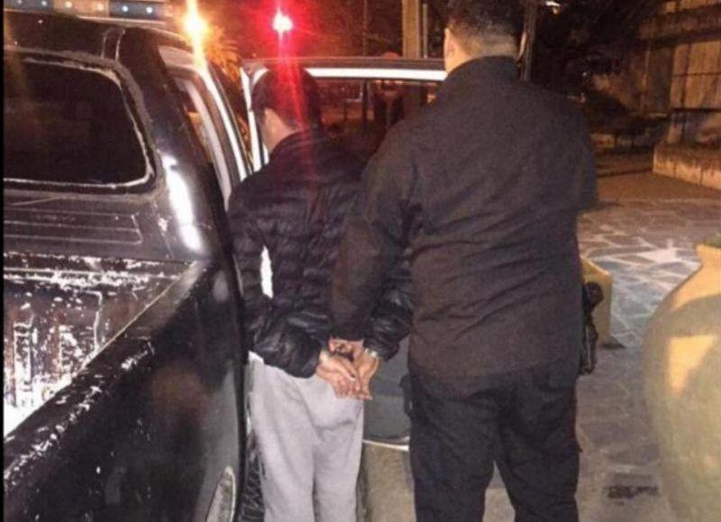El detenido, de 22 años, es oriundo de San Pedro.