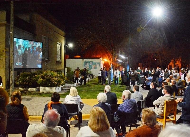La Municipalidad y los vecinos celebraron los 100 años del Hospital Emilio Zerboni.