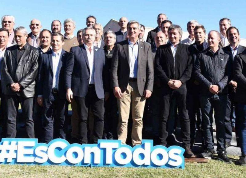 San Antonio de Areco fue epicentro del encuentro de intendentes bonaerenses con Alberto Fernández y Máximo Kirchner.