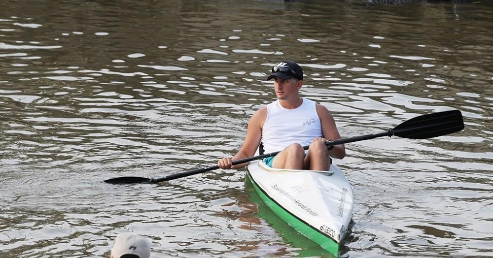 El canotaje es una de las actividades permitidas.