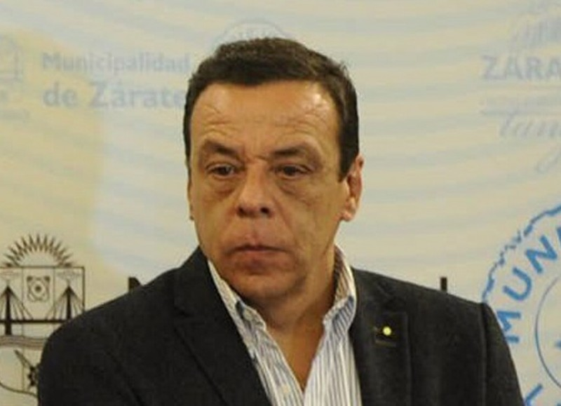 Osvaldo Cáffaro, intendente de Zárate.