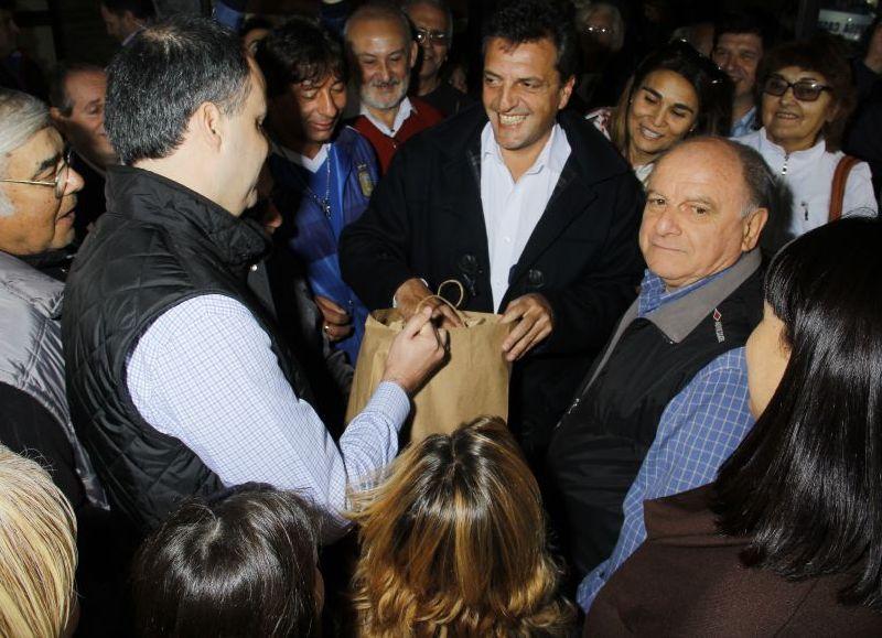 El ex intendente de Rojas, Martín Caso, respaldó a Sergio Massa como candidato a Presidente en 2019.