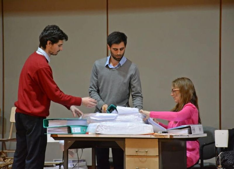 Participaron Viviana Bratschi y Francisco Ratto.