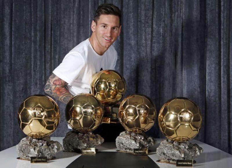 El récord del número de balones de oro ganados sigue perteneciendo a Messi. (Imagen ilustrativa)