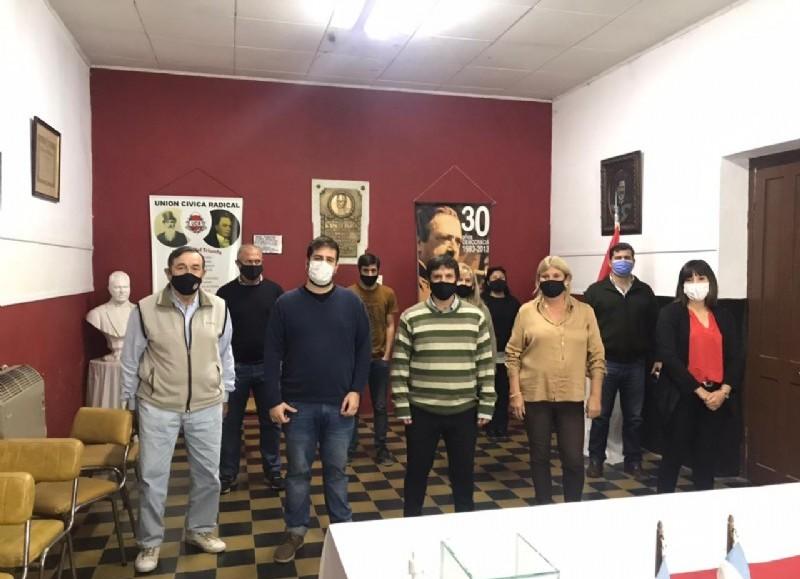 Yamil Barañuk asumió la presidencia de la Unión Cívica Radical  de San Antonio de Areco en un acto transmitido de manera virtual.