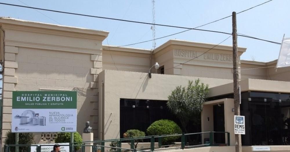 Personal que cumple funciones en el Hospital Zerboni se movilizó por las calles de la ciudad para reclamar un salario digno.