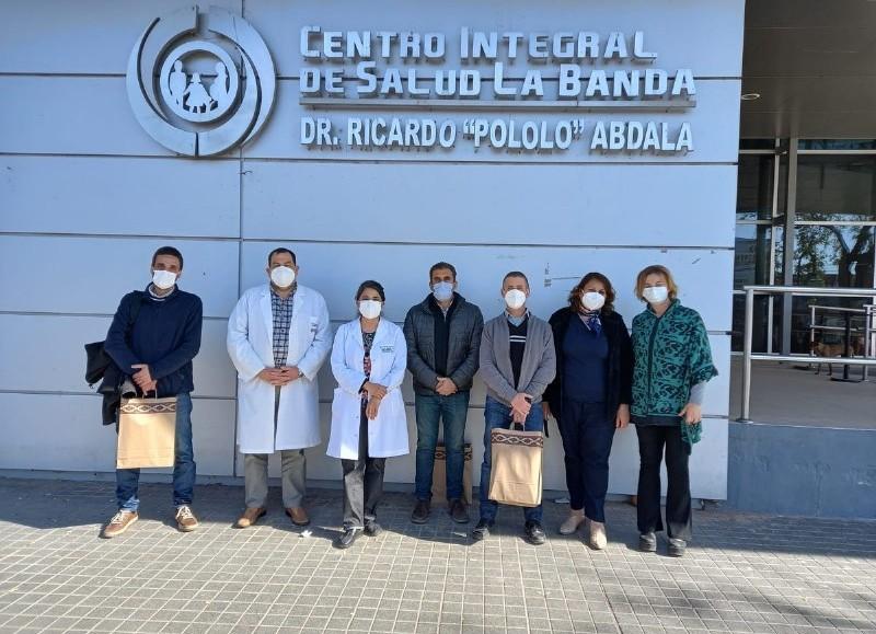La Municipalidad de San Antonio de Areco informó un hito que enorgulleció a toda la ciudad, donde el personal de Salud viajo a Santiago del Estero.
