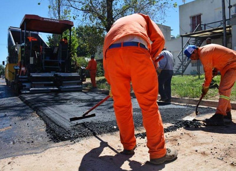 Obras públicas para los vecinos.
