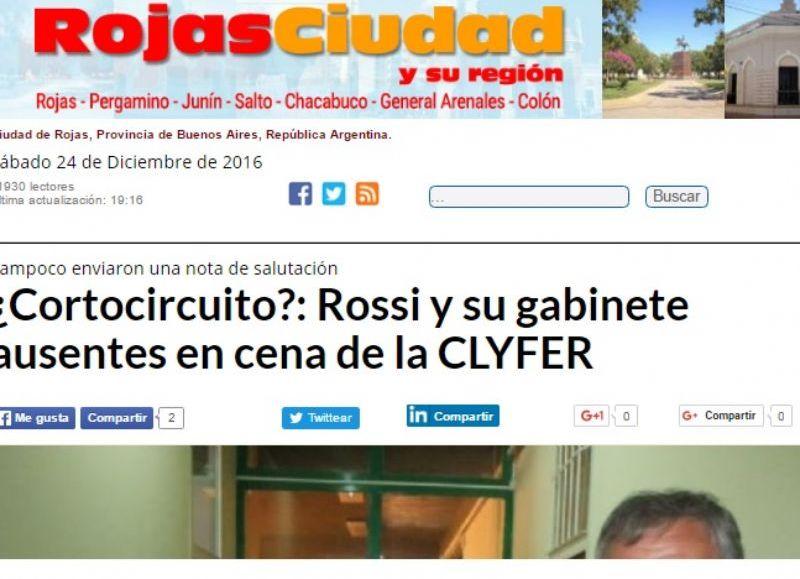 Rojas Ciudad, el medio más leído entre los habitantes de Rojas.