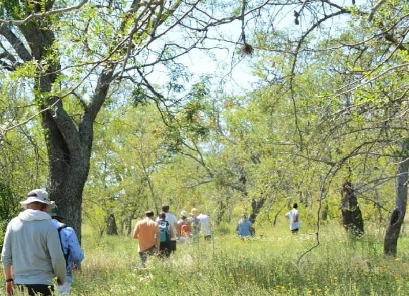 """""""Realizamos la primera visita guiada de nuestra reserva. Recorrimos y aprendimos mucho sobre nuestro ambiente natural"""", explicaron desde la comuna."""