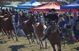 Los arequeros disfrutaron de una intensa agenda de actividades tradicionales.