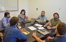 Más trabajo: la Municipalidad se reunió con los propietarios de lotes