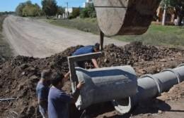 La Municipalidad puso manos a la obra para renovar los tubos de alcantarillas en distintos barrios