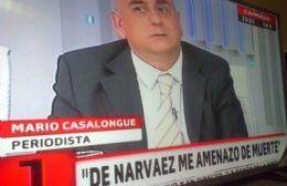Mario Casalongue presentó la obra editorial que relata las agresiones de Francisco de Narváez hacia su persona.