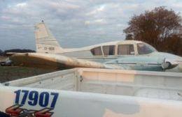 La aeronave fue hallada en San Andrés de Giles.