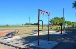 Se inauguró la Plaza Saludable en Duggan
