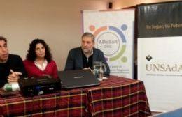 Favio Crudo, Susana Lloveras y Jerónimo Ainchil.