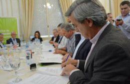 Participaron mandatarios de otros distritos de la segunda y la cuarta sección electoral.