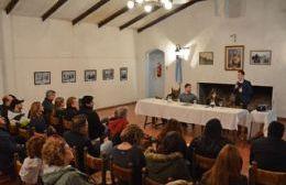 Reunión en La Matera.