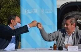 El municipio  firmó convenio por 24 millones para agua y cloacas