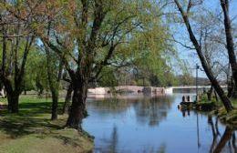 El río volvió a su cauce en San Antonio de Areco.