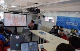 La Universidad se presentó en la ExpoEducativa San Pedro 2017, con su oferta educativa y una conferencia sobre la vida universitaria.