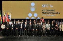 Fuerte protagonismo de Areco en la Cumbre de Mercociudades