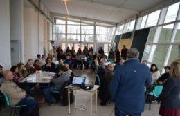 Más de 60 representantes de diferentes áreas trabajaron en aportes para la planificación de las carreras.