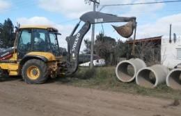 La Municipalidad avanzó en una nueva obra para el arreglo de la calle de Villa Lía