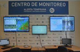 Se inauguró el Centro de Monitoreo y Alerta Temprana de Areco