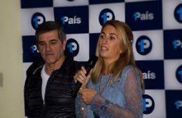 Aldo Menconi y Paula Suárez encabezan la lista de candidatos a concejales por este espacio a nivel local.